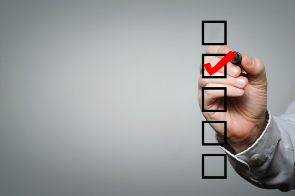 Are you conducting regular quality checks of your reporting delegate?
